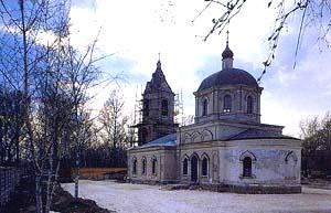Храм Рождества Пресвятой Богородицы в Капотне (1870 год)