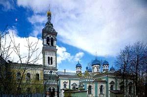 Храм Святителя Николая на Рогожском кладбище ( Николо-Единоверческий храм)