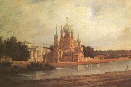 компании картина с видом на останкинский живоначальной троицы храм цены без переплат